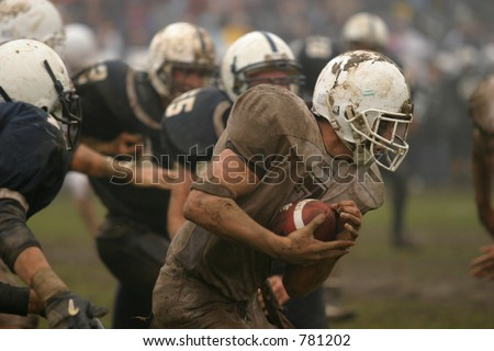 High School football. Editorial use only.
