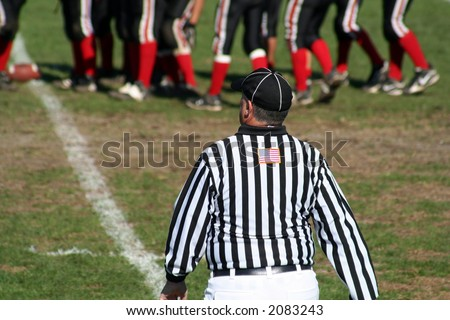 High School Football Referee
