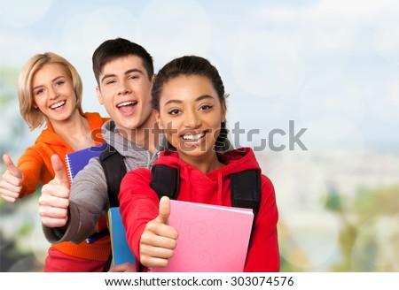 High School Students, Education, School Children.