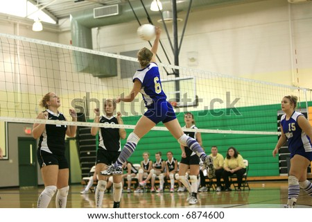 High School Volley Ball game