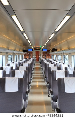 high speed train interior,travel background