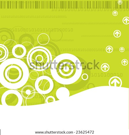 High Tech Templates (Vector file also available in my portfolio) - stock photo