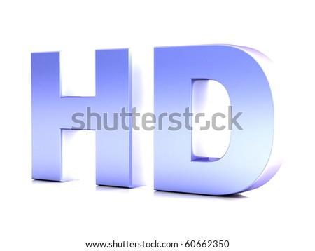 High three dimensional chromium word CG render
