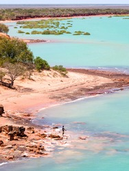 High Tide at Roebuck Bay in Broome