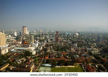 high view of Kuala Lumpur city
