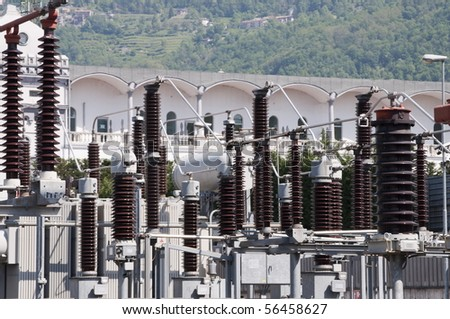 High Voltage Bobbins  of power plant station
