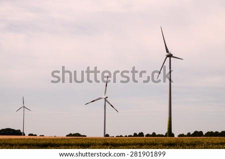 High Voltage Electric Transmission Tower Energy Pylon