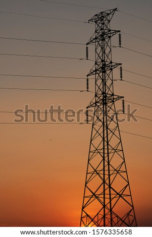 High voltage post or High voltage tower #1576335658