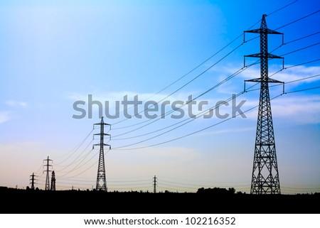 high voltage transmission line #102216352