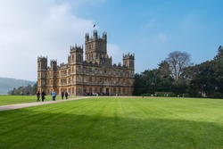 Highclere Castle Downton Abbey