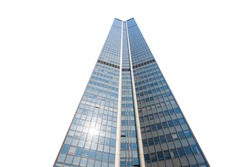 Highest Building in White background