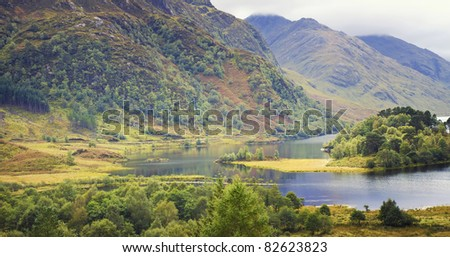 highlands of western Scotland