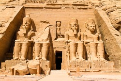 Highlight of a trip to Egypt. The Felstempel in Abu Simbel.