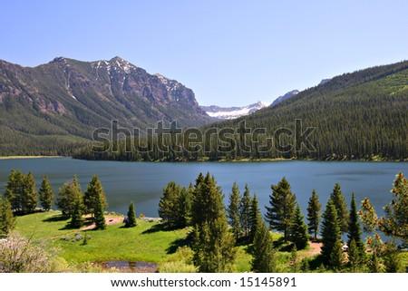 Highlite Lake at Gallatin National Forest, Bozeman, Montana, USA