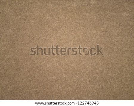 Highly detailed brown sandpaper texture - stock photo