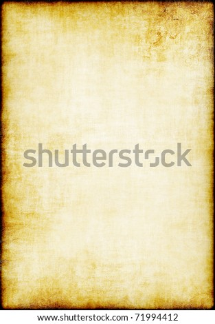 Highly detailed grunge paper texture with copy space for images or text