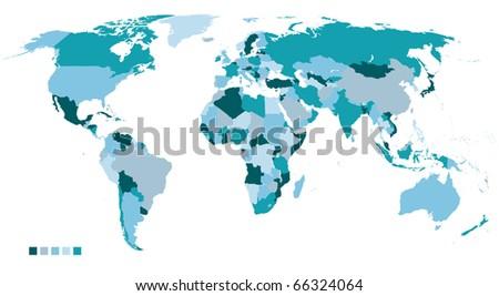 world map political high resolution. political world map