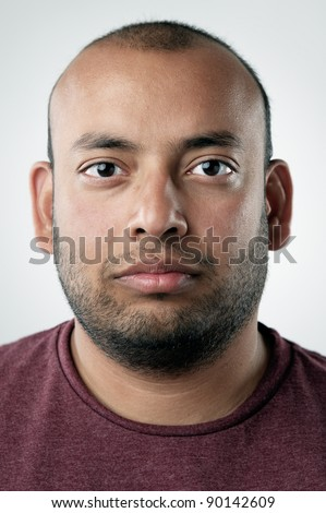 highly detailed portrait of a normal person. portfolio contains hundreds of these for cultural and ethnic diversity campaigns and concepts. (see also funny faces and smiling faces)