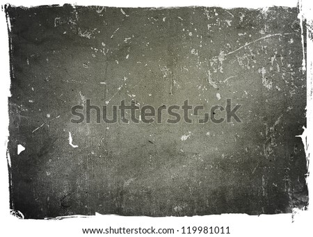 highly Detailed textured grunge background frame with space for your projects #119981011
