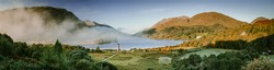Highres panorama of the glenfinnan monument