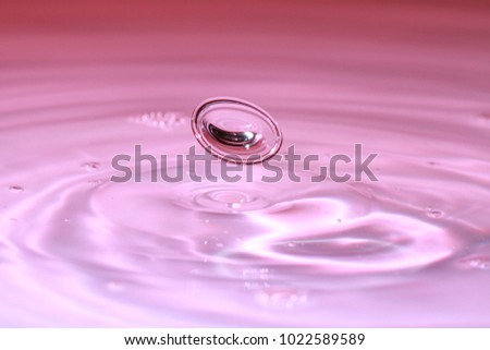 Stock Photo Highspeed Photography Waterdrops