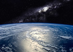 Hight quality Earth image. Elements of this image furnished by NASA