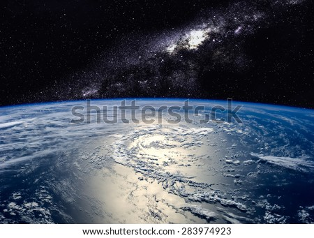 Hight quality Earth image. Elements of this image furnished by NASA #283974923