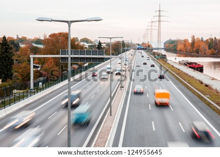 highway autumn