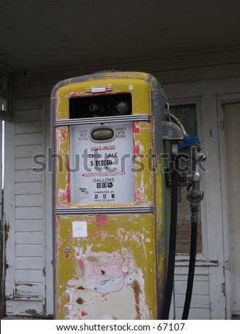 Highway Pump - stock photo