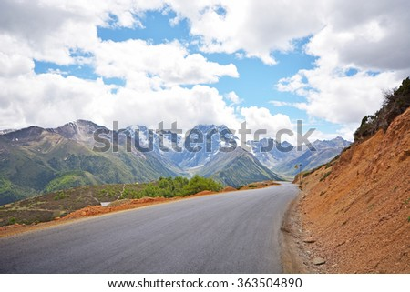 highway road - Shutterstock ID 363504890