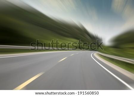 Highway speed cornering #191560850