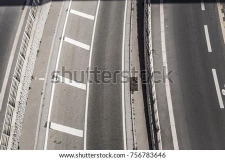 Highway street in Marseille France Europe #756783646