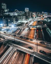 Highway traffic in Boston