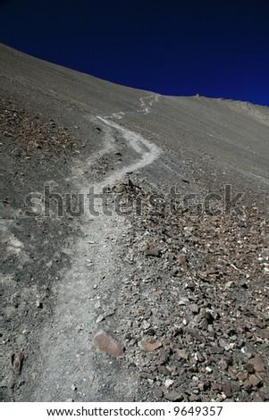 Hiker / Climber Himalayas, Mountain Climb- Stok Kangri (6,150m / 20,080ft), India
