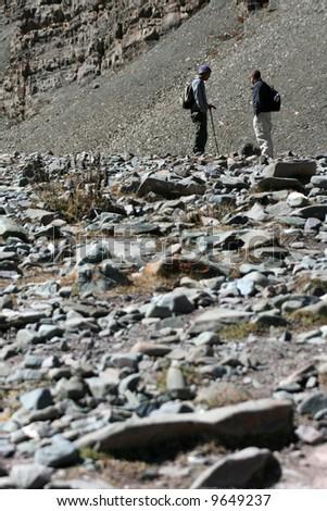 Hikers, Mountain Climb- Stok Kangri (6,150m / 20,080ft), India