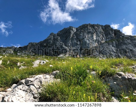 Hiking in Slovenian Mountains, The Alps #1147267898