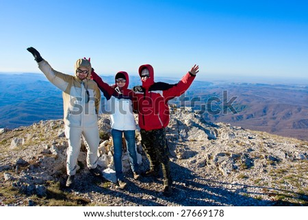 Hiking in the Crimea mountains #27669178