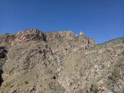 Hiking Mount Kimball in Tucson, Arizona