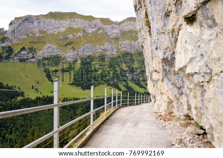 Free photos Hiking trail to the Wildkirchli, Switzerland | Avopix.com