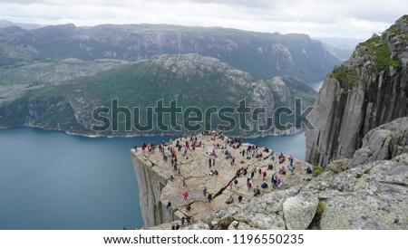 Hiking the fjords in Norway. Lysefjorden and Hardangerfjorden. Visiting Trolltunga/Trolls Tongue, Florli 4444 Kjeragboulder, Preikestolen/Pulpit Rock, Odda and Lysebotn.