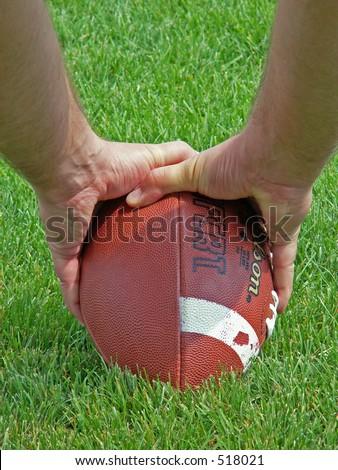 hiking the football
