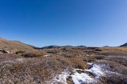 Hiking to Silver dollar Lake in Guanella pass Colorado