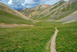 Hiking Trail in the Rocky Mountains, Colorado