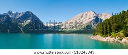 Hiking views Kananaskis Lakes area Peter Lougheed Provincial Park