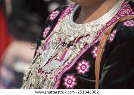 Hill Tribe Silver ornaments #251346082