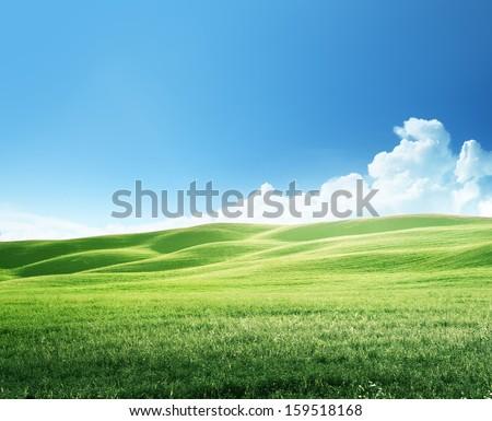 hills in sunny day Tuscany, Italy #159518168