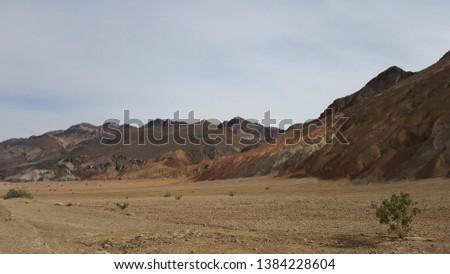 hills valleys in death valley #1384228604