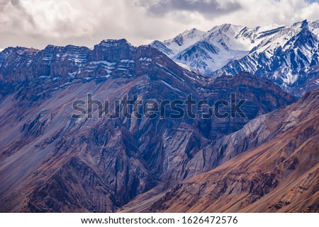 Himalayas fold mountains form when two tectonic plates move towards each other at convergent plate boundary, forces responsible for formation of fold mountains are called orogenic movements.