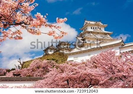 Himeji castle ストックフォト ©
