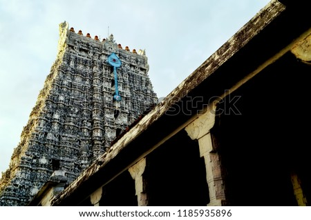 Hindu deities at Thiruchendur temple